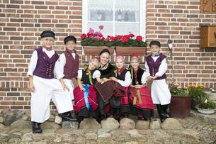 Traditionelle Mönchguter Tracht